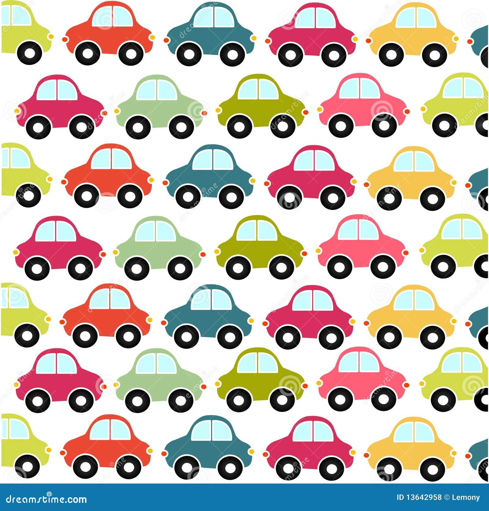 Het patroon van de auto behang vector illustratie afbeelding 13642958 - Behang grafisch ontwerp ...