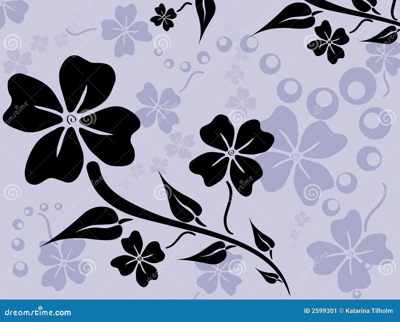 Het patroon van de bloem