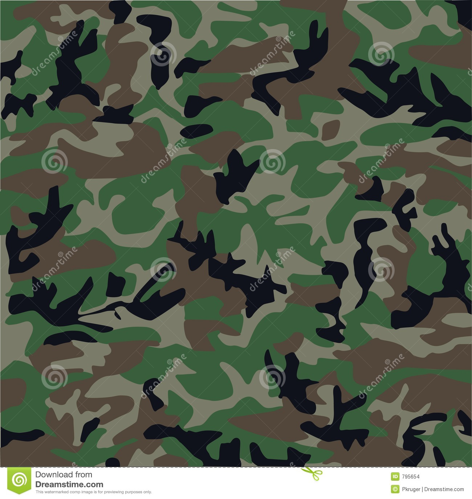 Het patroon van de camouflage