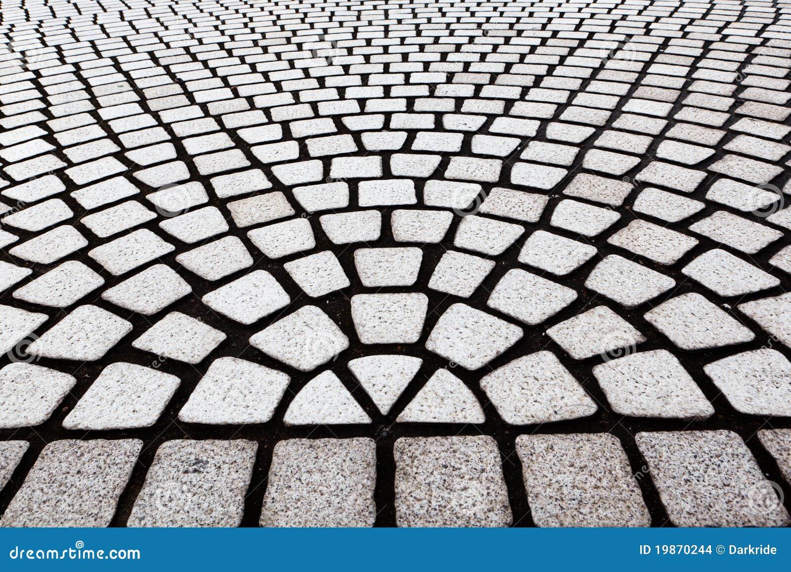 Het patroon van de tegel van de vloer stock afbeeldingen beeld 19870244 - Tegelvloer patroon ...