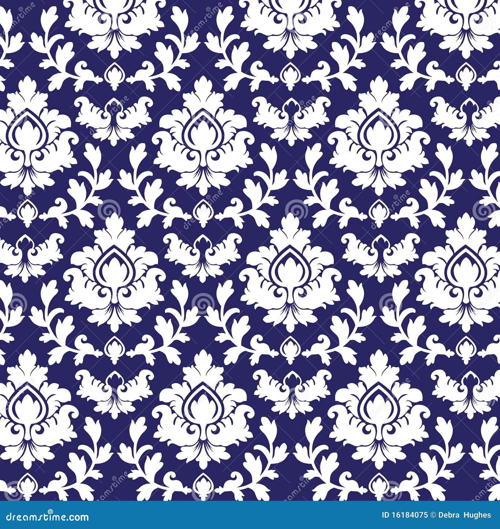 Het patroon van het damast