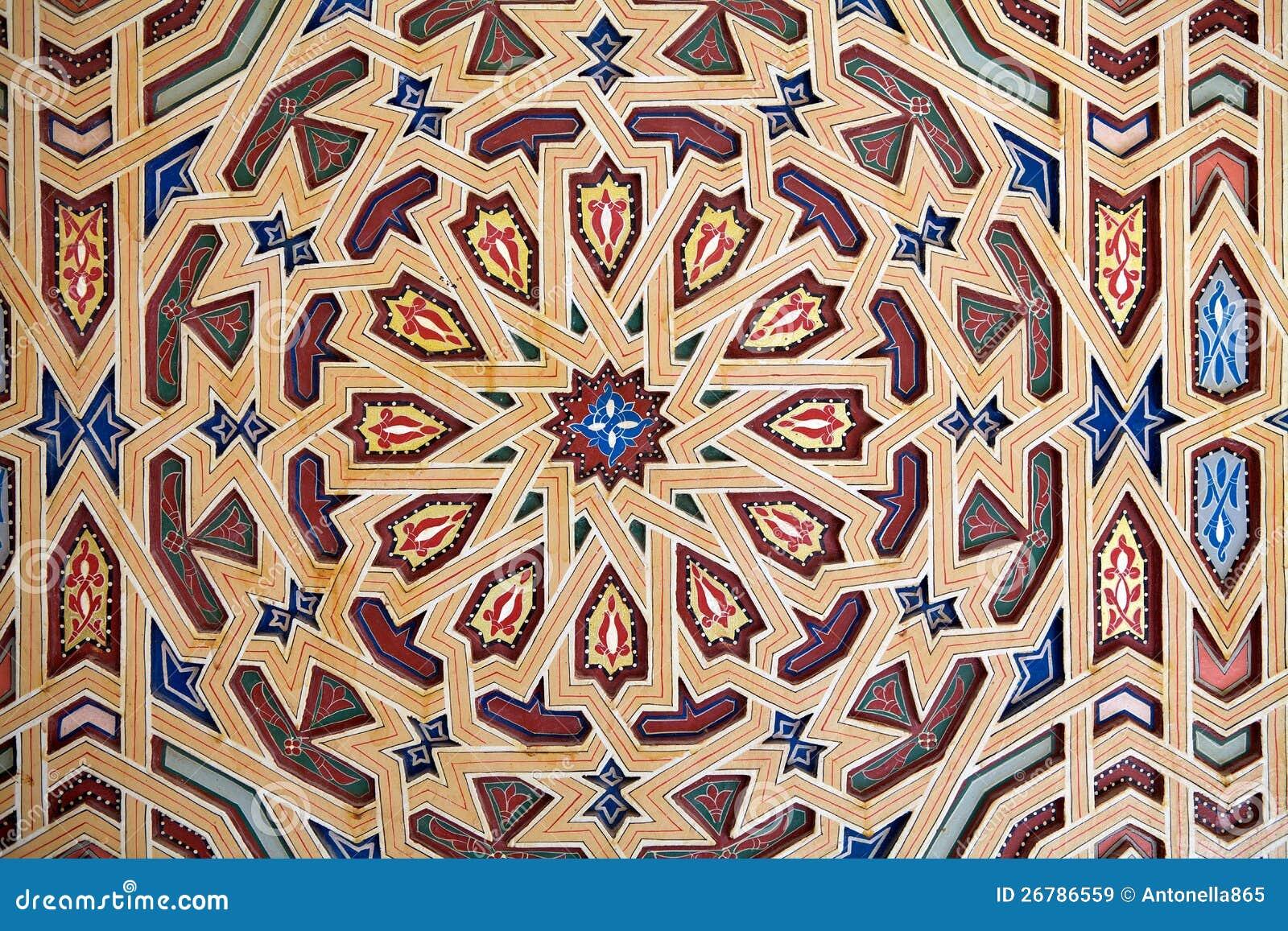Het patroondecoratie van Visula