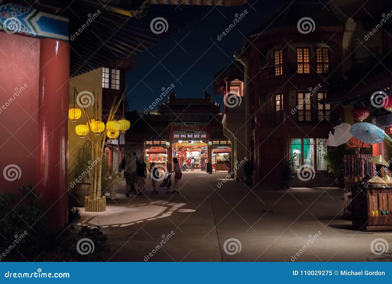 Het Paviljoen van China in Epcot