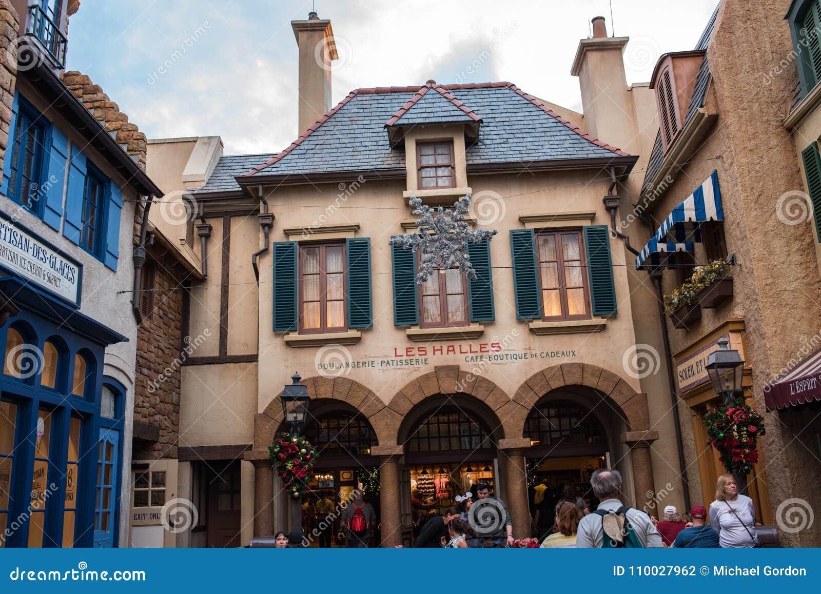 Het Paviljoen van Frankrijk in Epcot