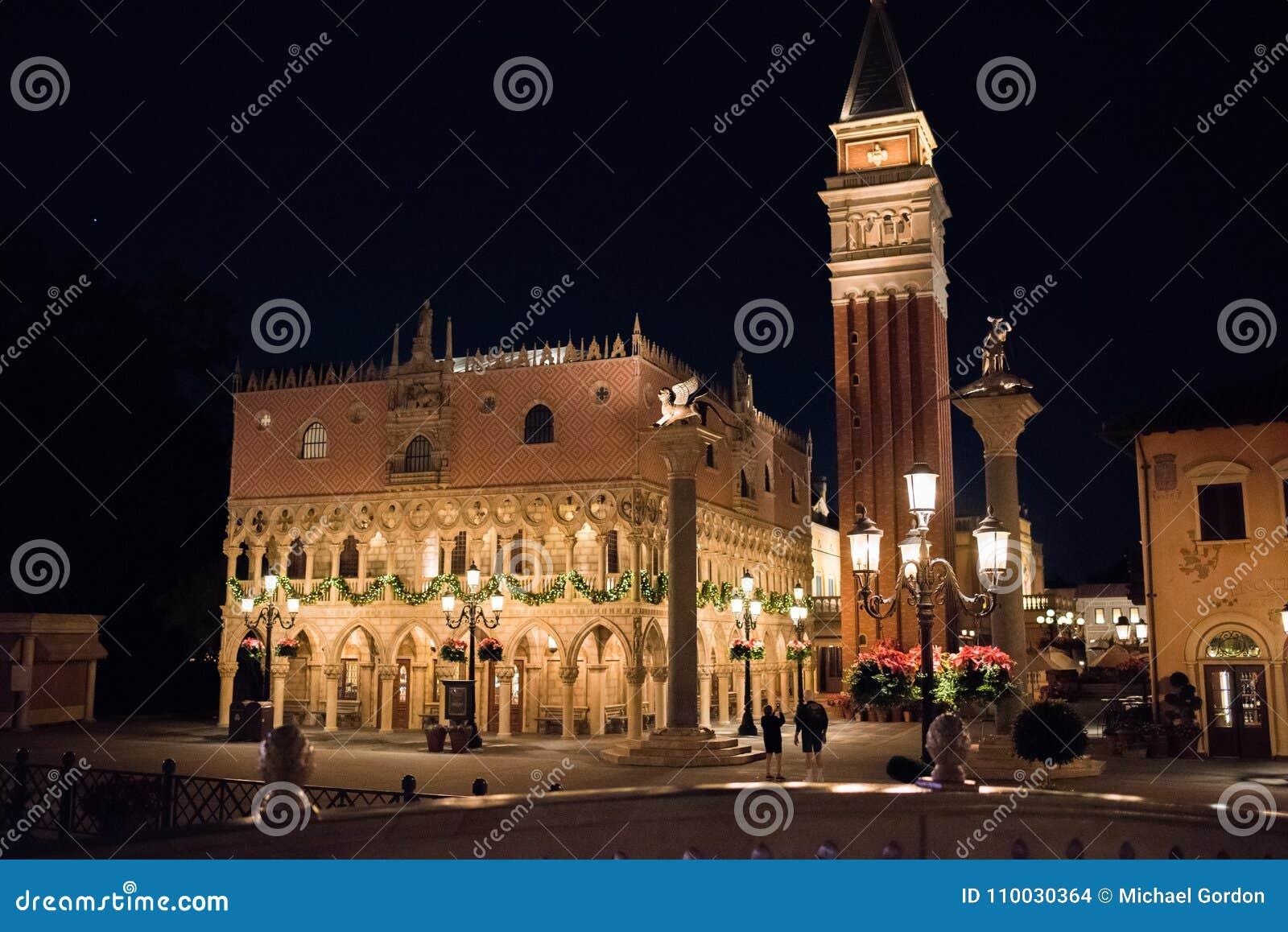 Het Paviljoen van Italië in Epcot