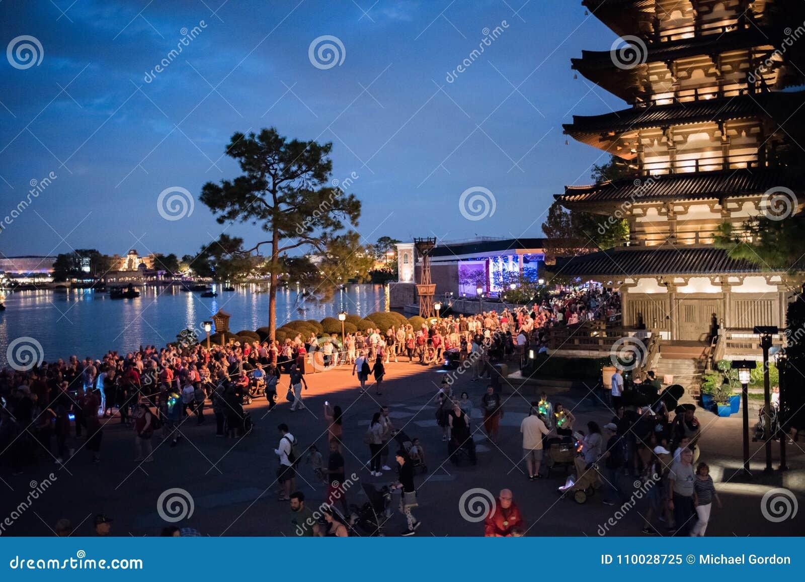 Het Paviljoen van Japan in Epcot