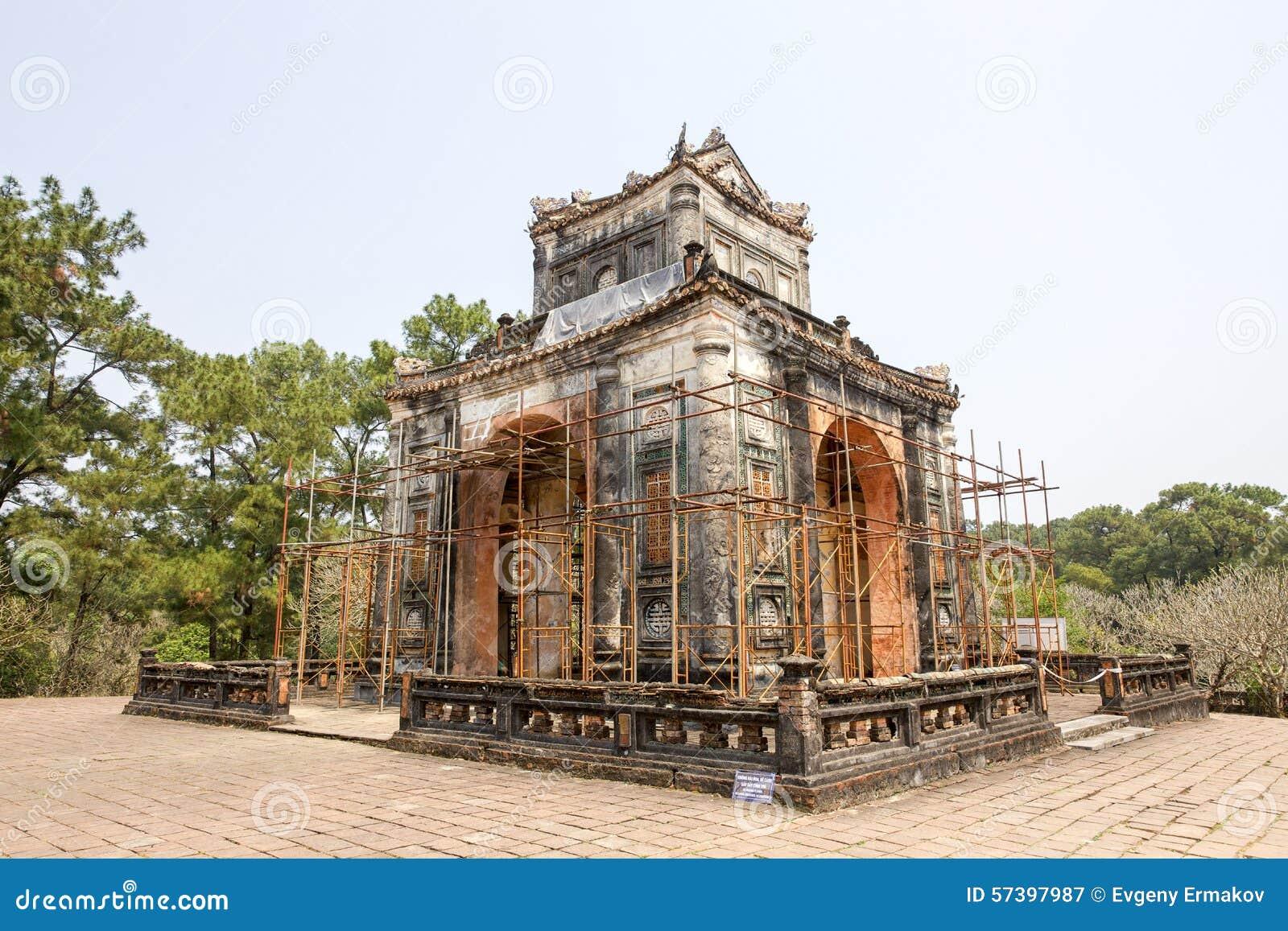 Het Paviljoen van Keizergraf van Turkije Duc