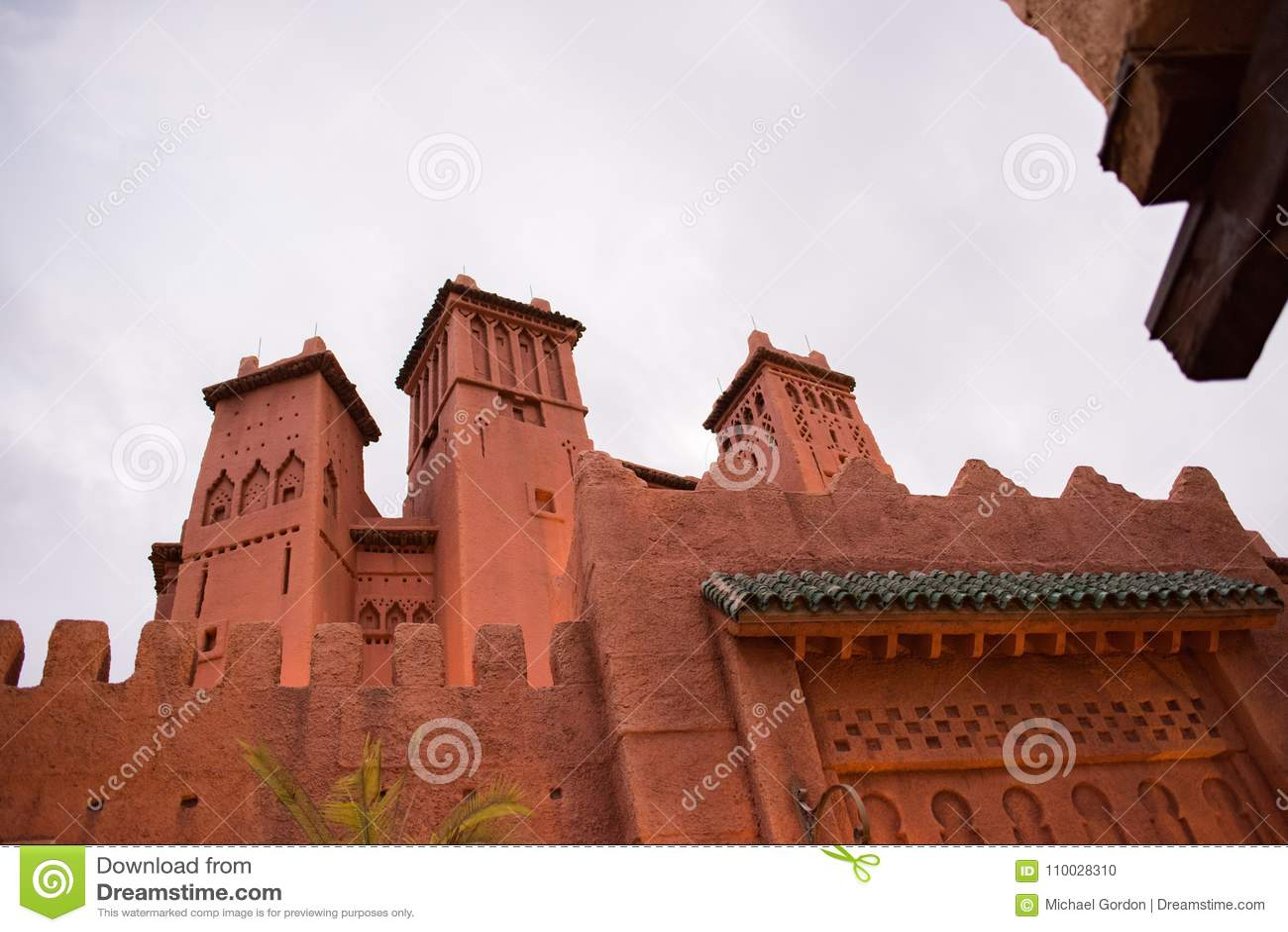 Het Paviljoen van Marokko in Epcot