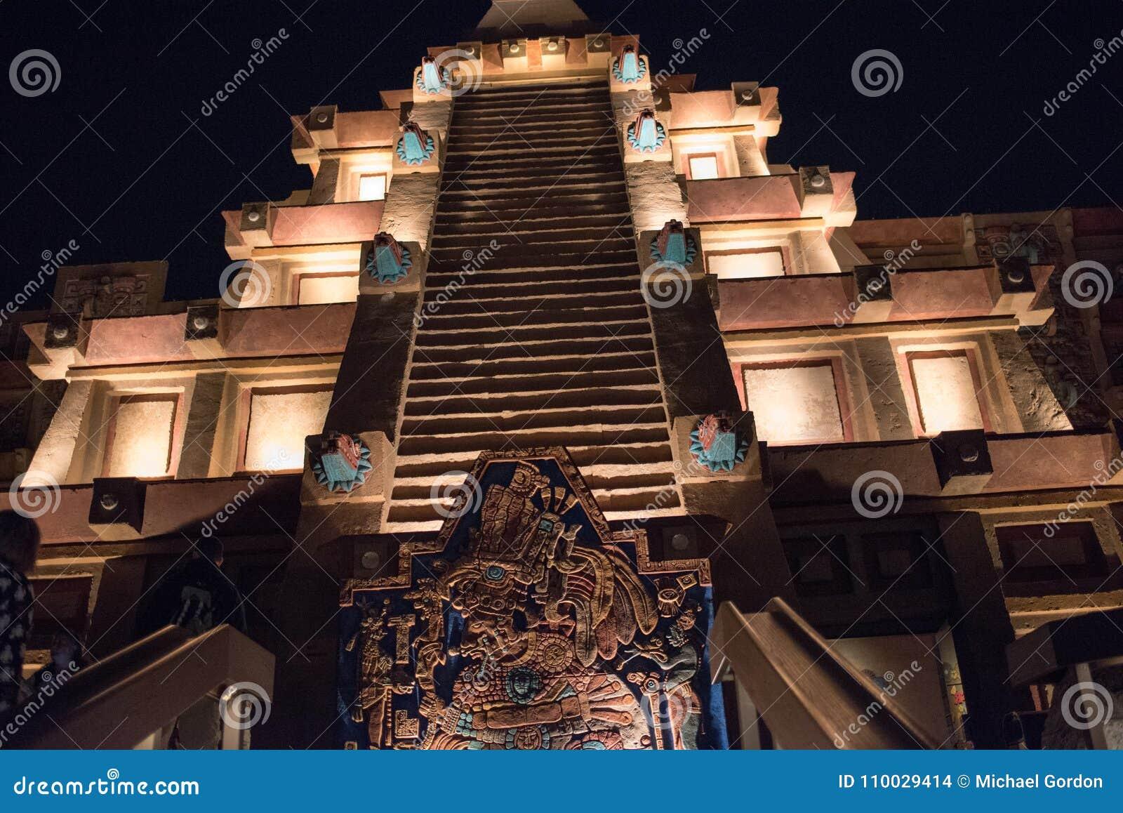 Het Paviljoen van Mexico in Epcot