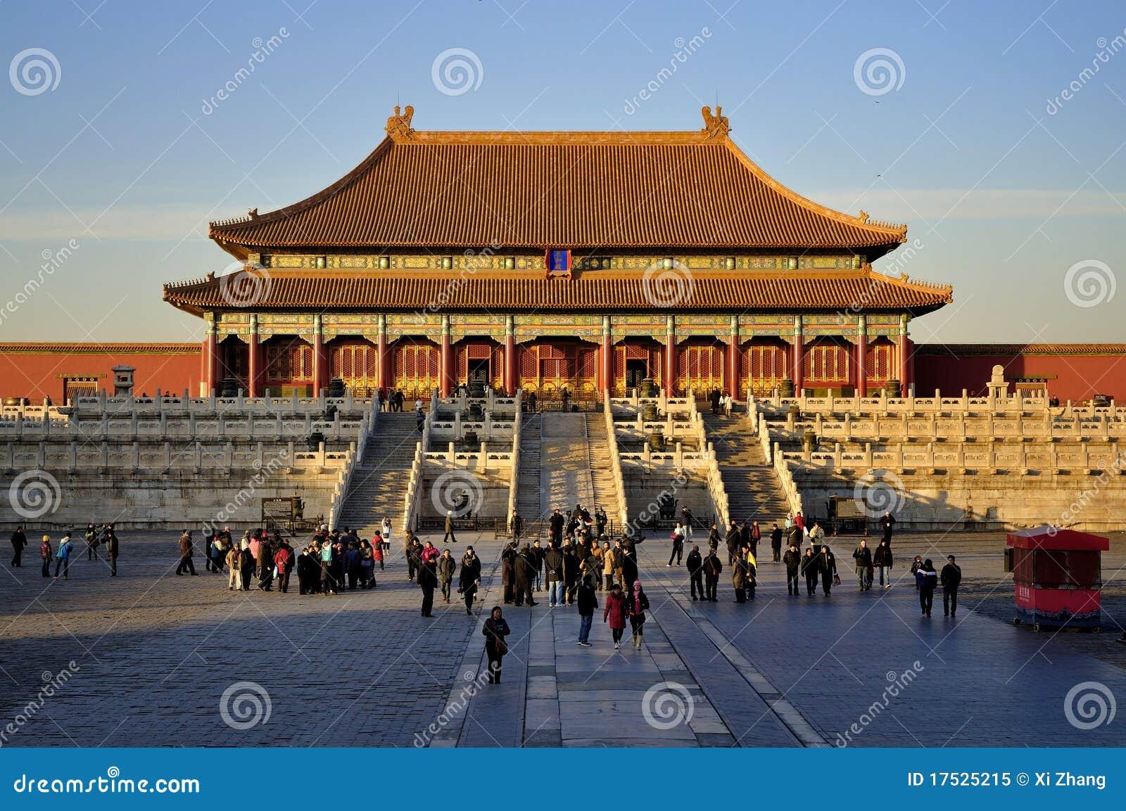 Het Peking Verboden Paleis van de Stad