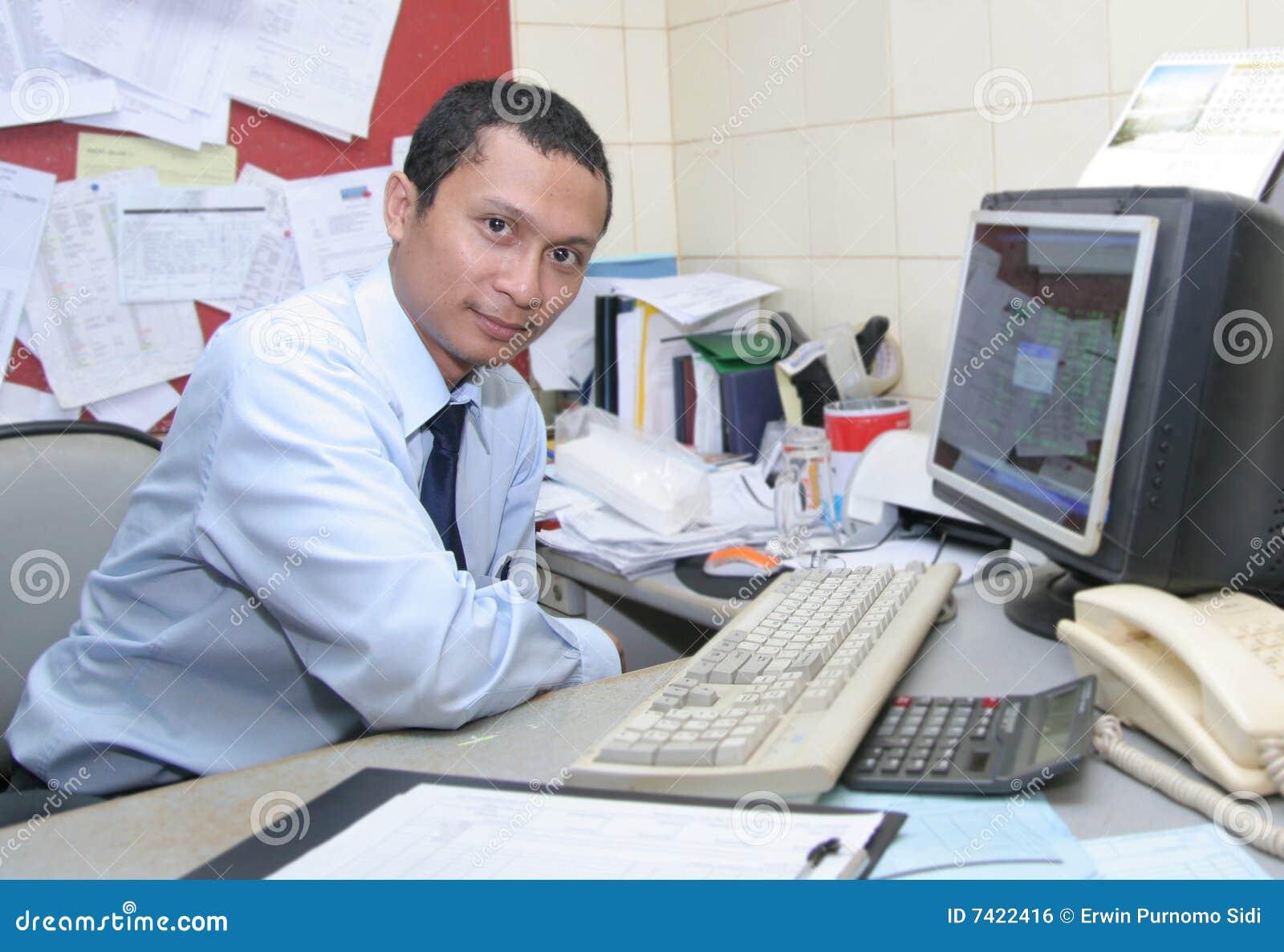 Het personeel van het bureau