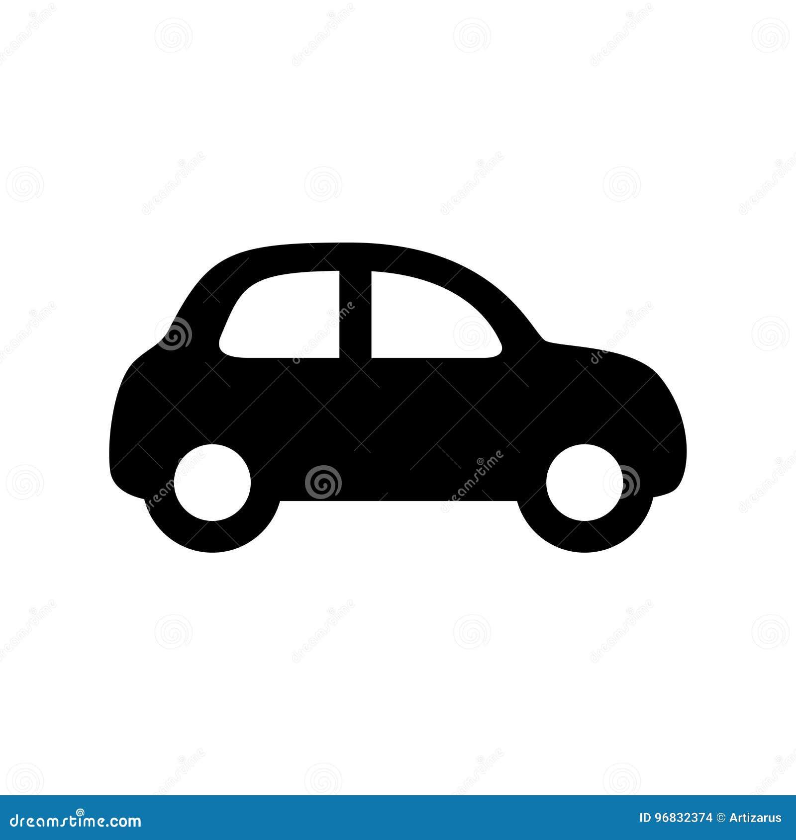 Het pictogram van de auto