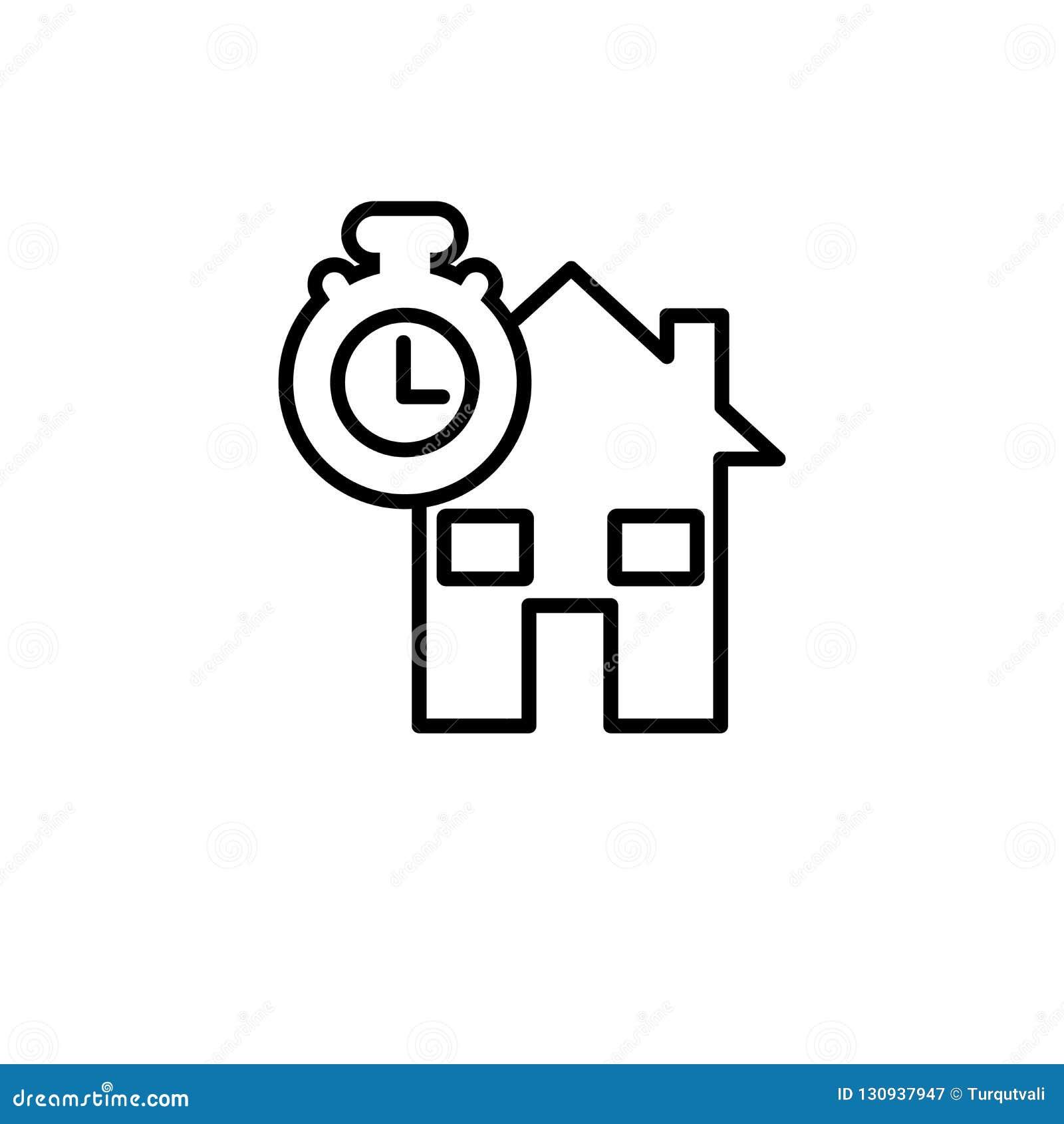 Het pictogram van de conformiteitsverklaringshypotheek