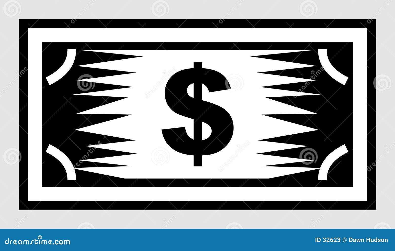 Het Pictogram van de dollar