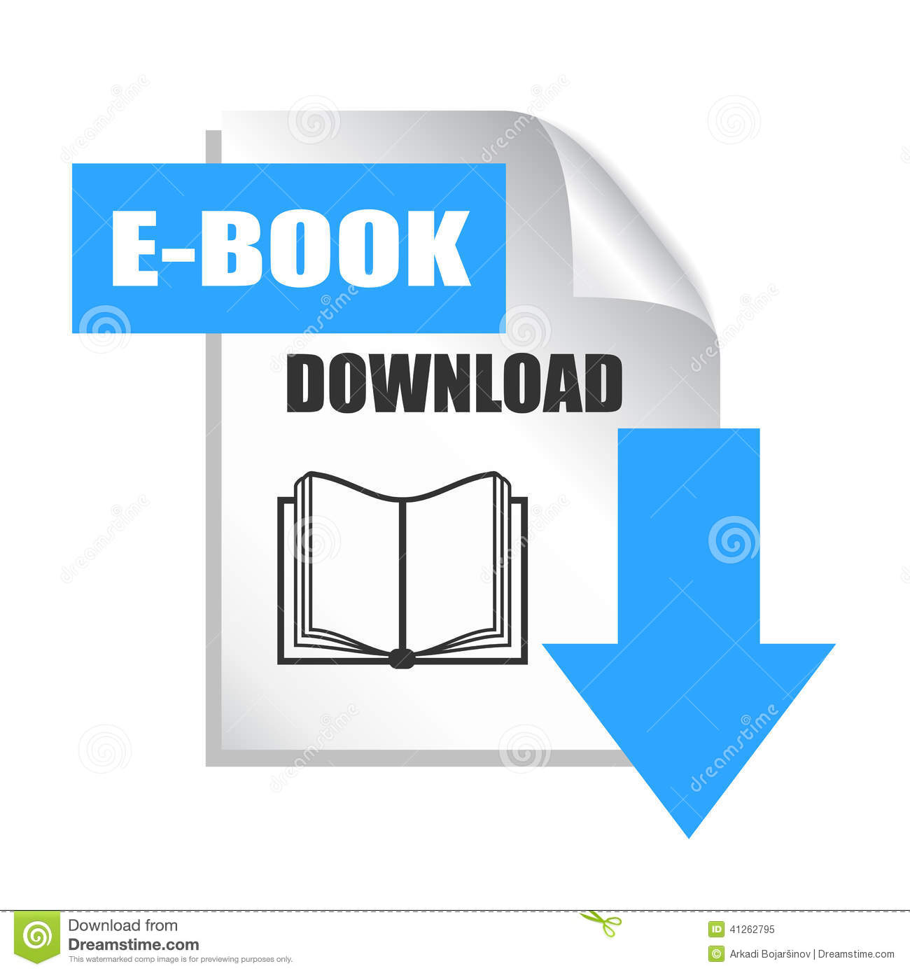 Het pictogram van de EBookdownload