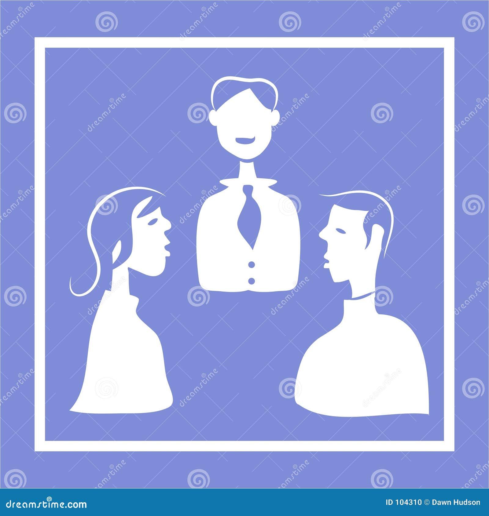 Het Pictogram van de vergadering