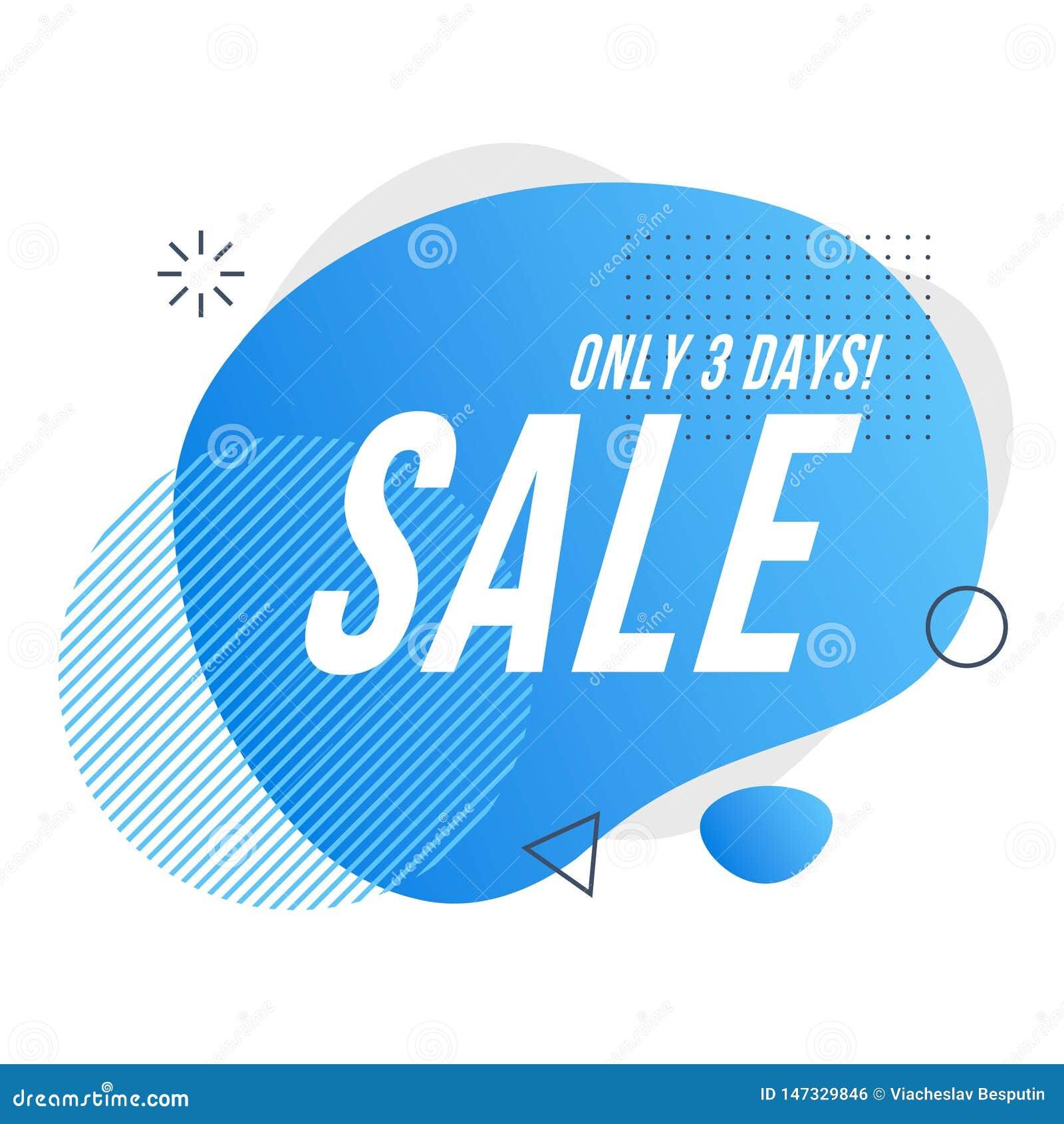 Het pictogram van de verkoop dagkortingen Vector illustrat