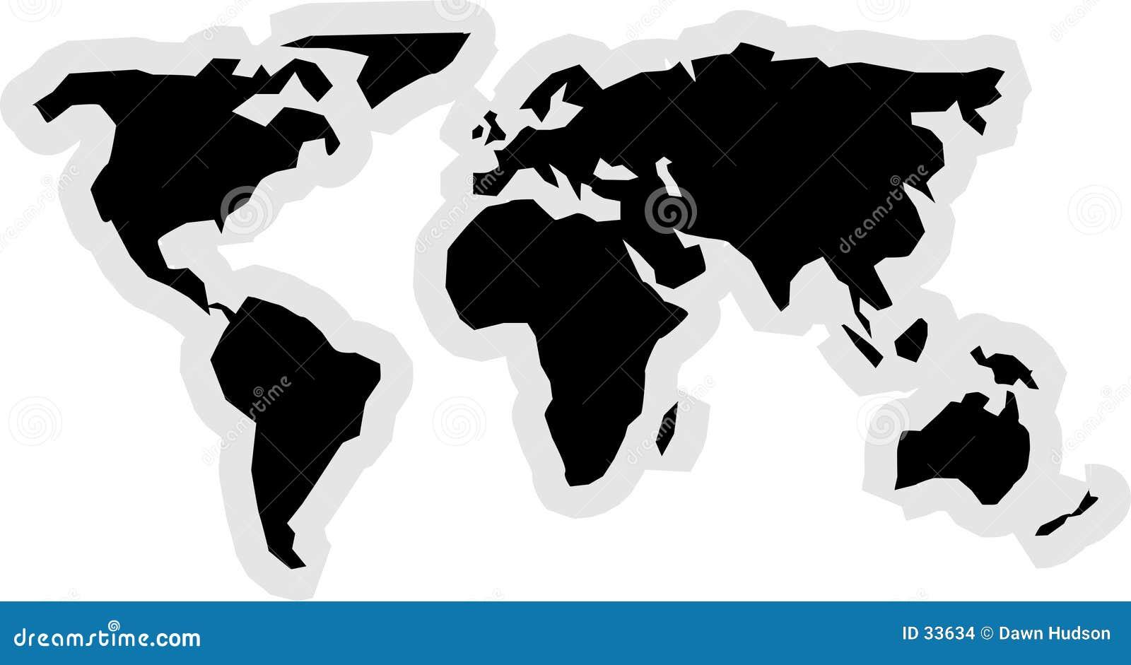 Het Pictogram van de wereld