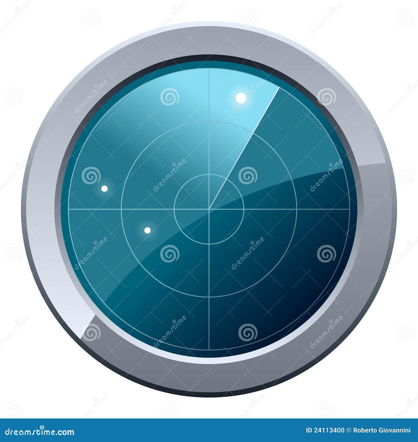 Het Pictogram van het Scherm van de radar