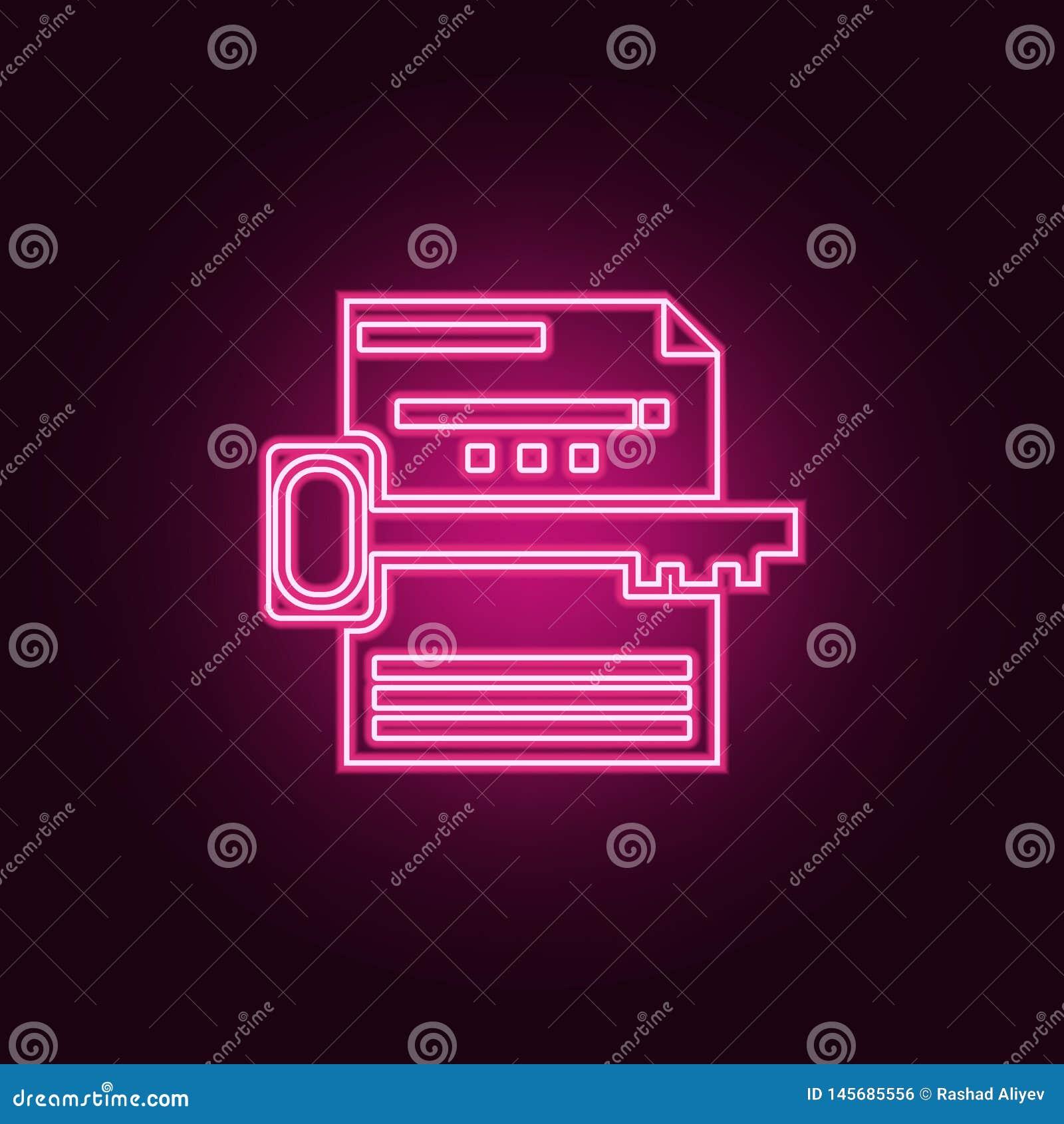 Het pictogram van het sleutelwoordonderzoek E Eenvoudig pictogram voor websites, Webontwerp, mobiele toepassing, informatie