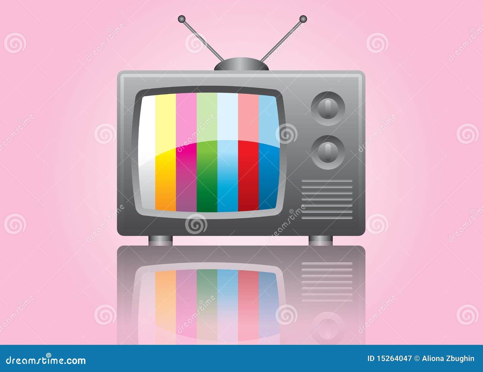 Het pictogram van TV