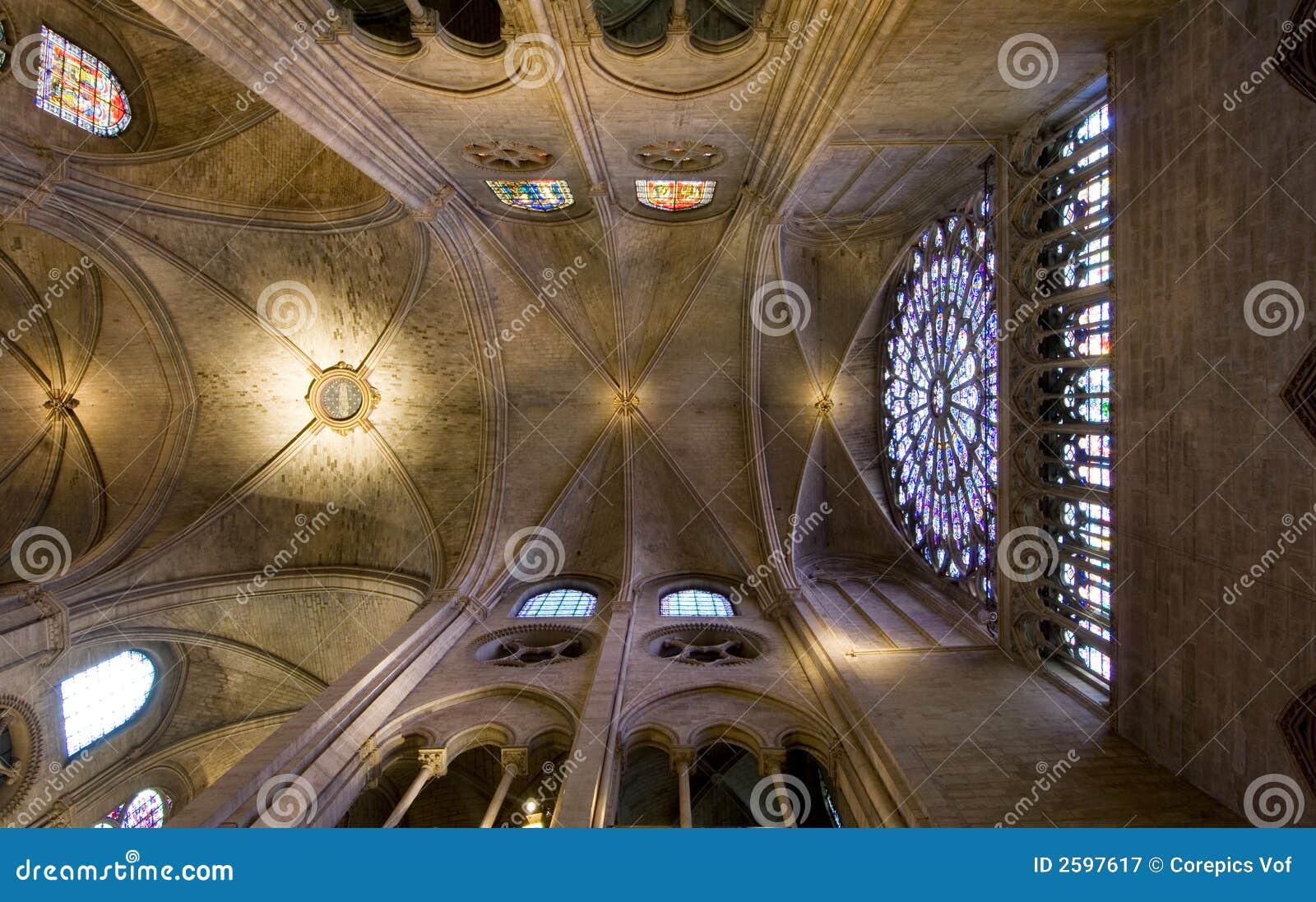 Het Plafond van Notre Dame
