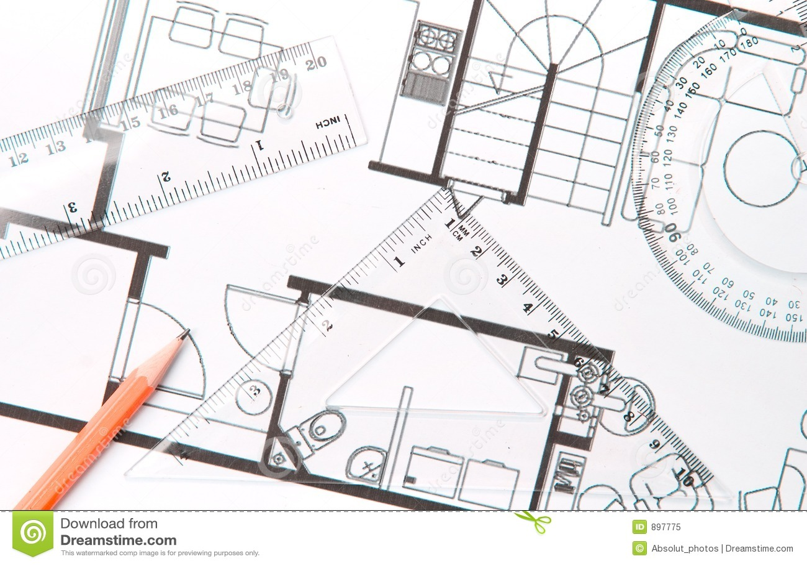 Het plan van de vloer