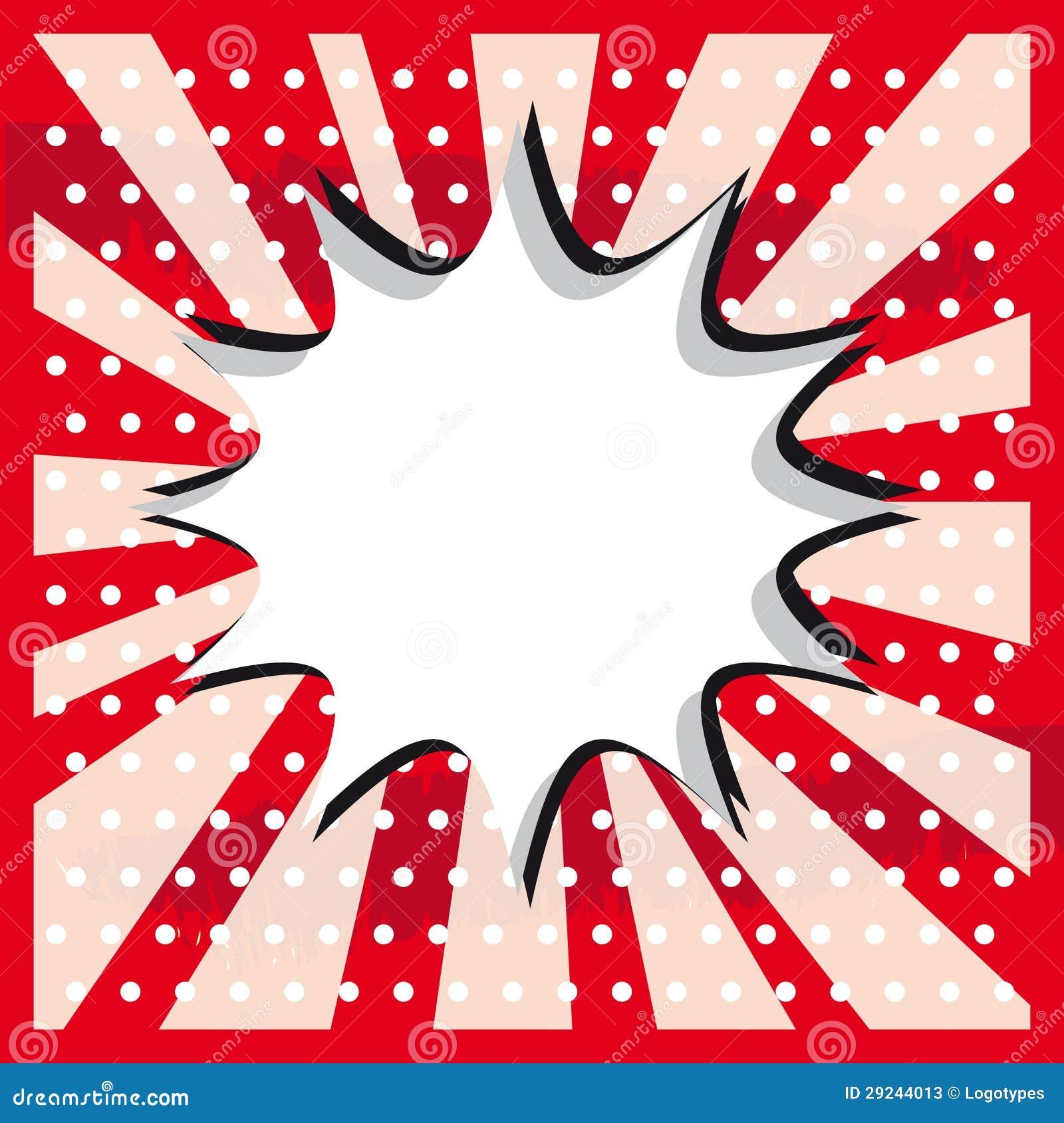 Het pop-artwolk van de sneeuwbal op een uitstekende grunge sticker als achtergrond