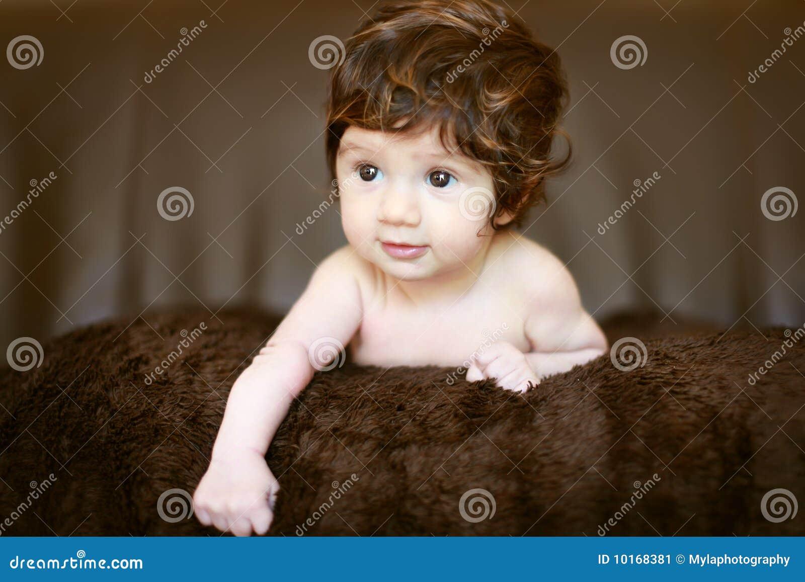 Het portret van de baby