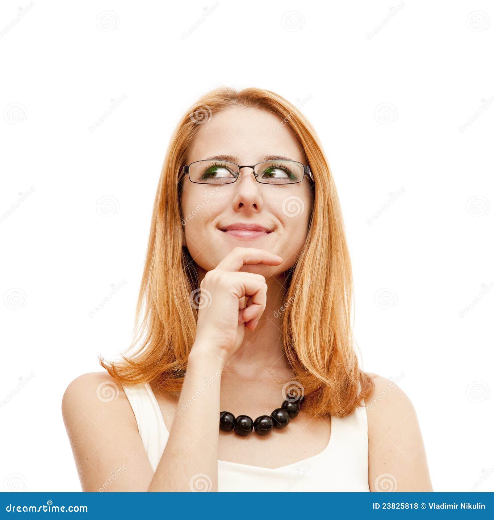 Het portret van de close-up van leuke jonge vrouwen