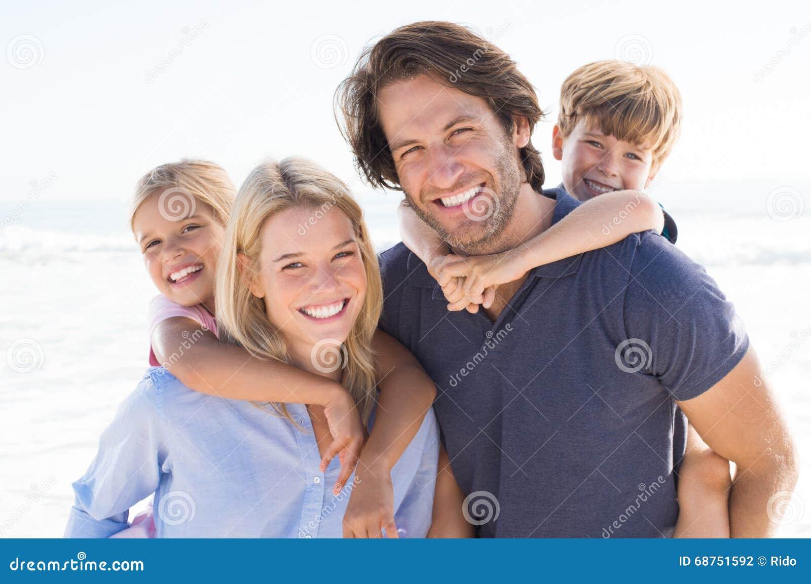 Het portret van de familie