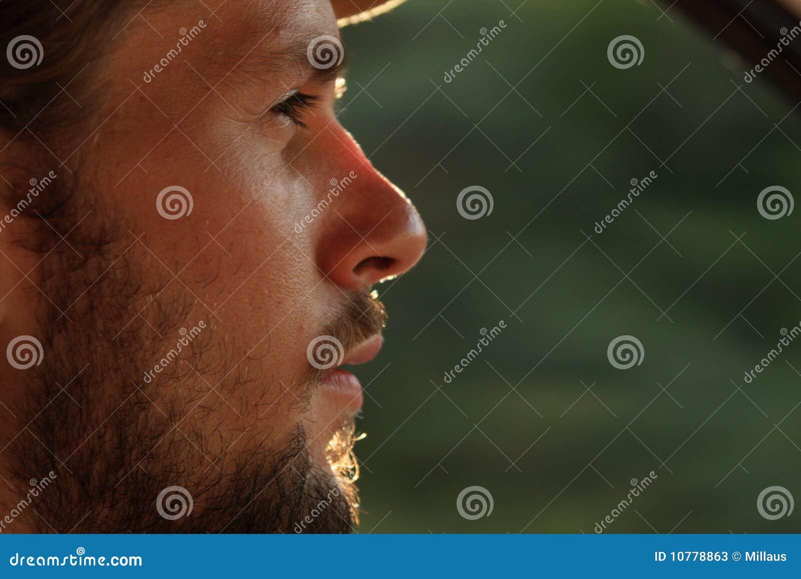 Het portret van de mens