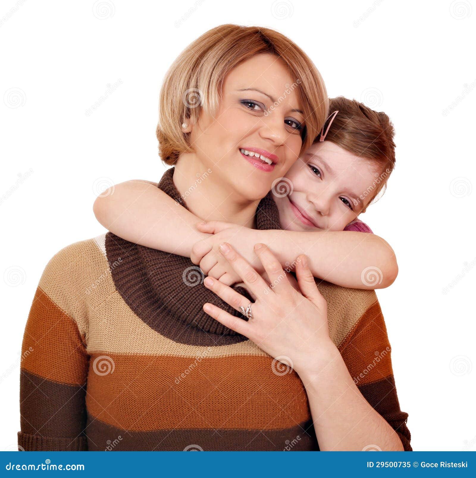 Het portret van de moeder en van de dochter