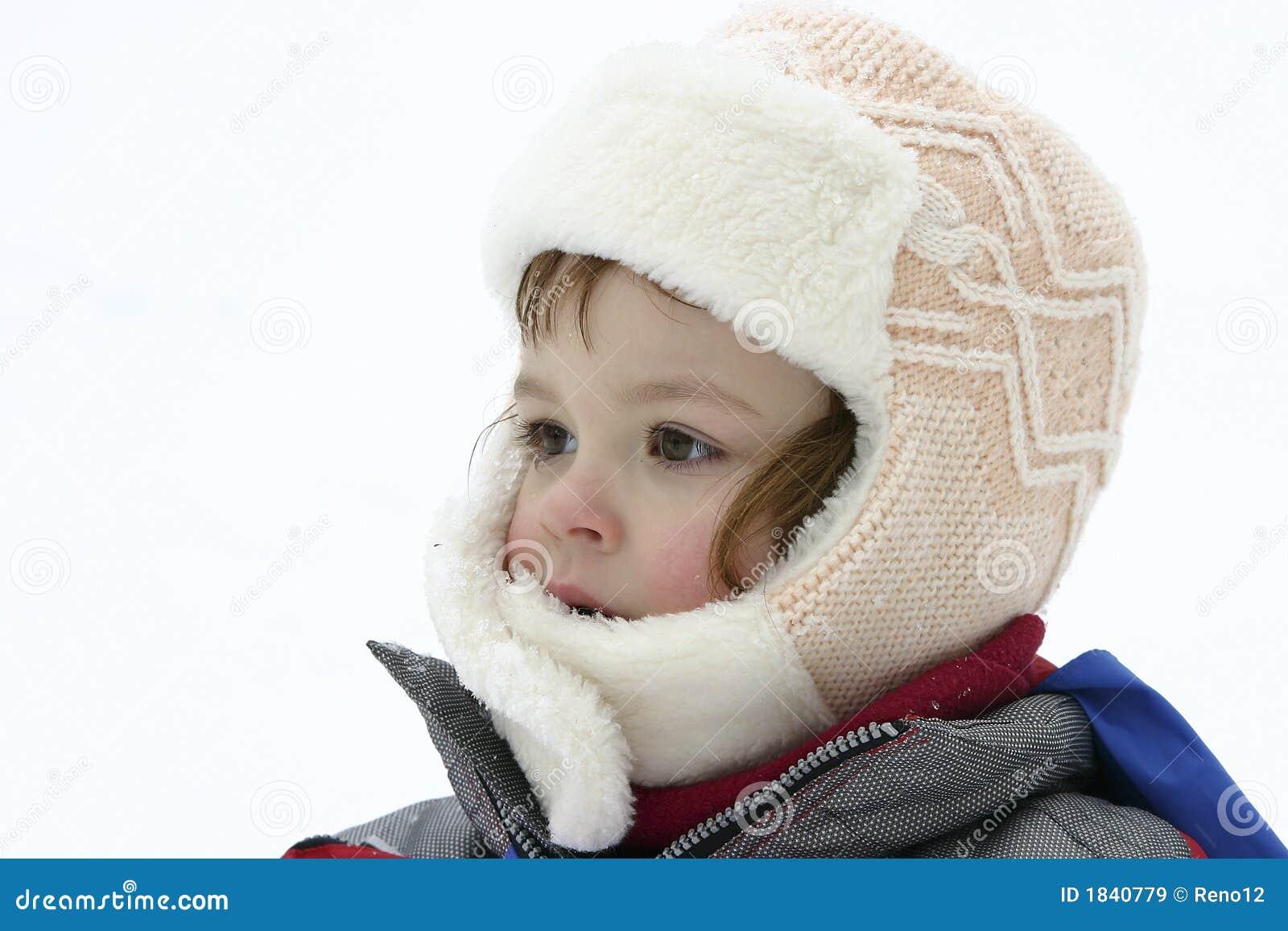 Het portret van de sneeuw