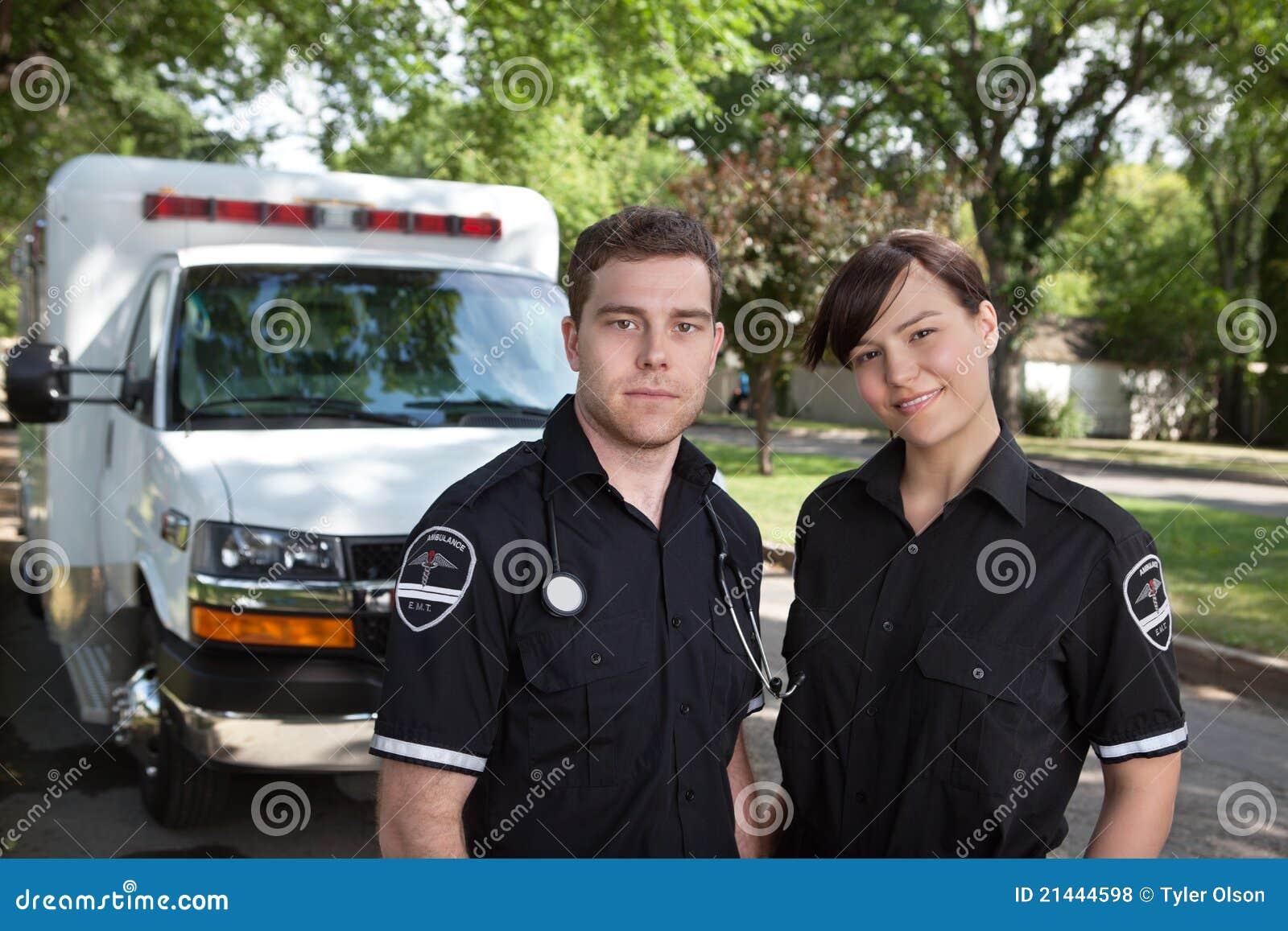Het Portret van het Team van de paramedicus