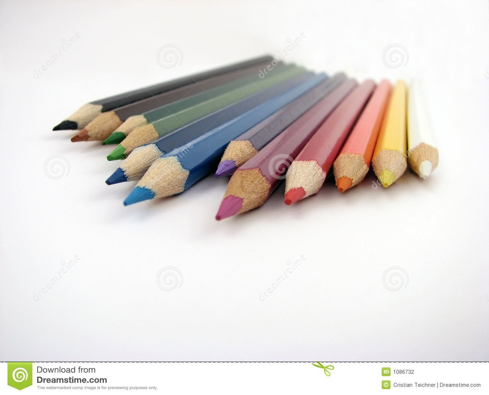 Het potlood van de kleur