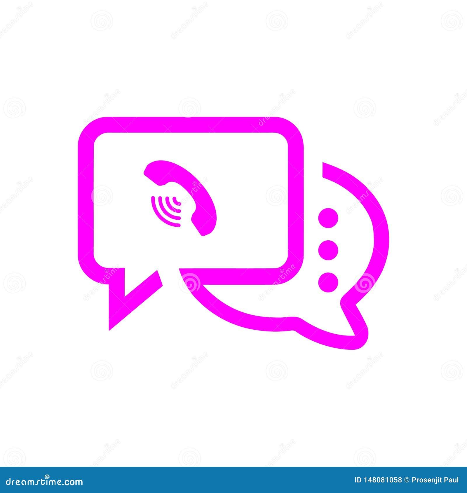 Het praatjepictogram, sms pictogram, praatje, bel, commentarenpictogram, mededeling, besprekingspictogram, vraag, groep sms, toes