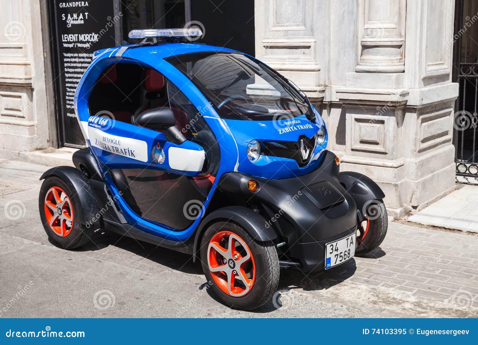 Het Prototypeauto Van Het Concept Van Renault Z E Alle Elektrische