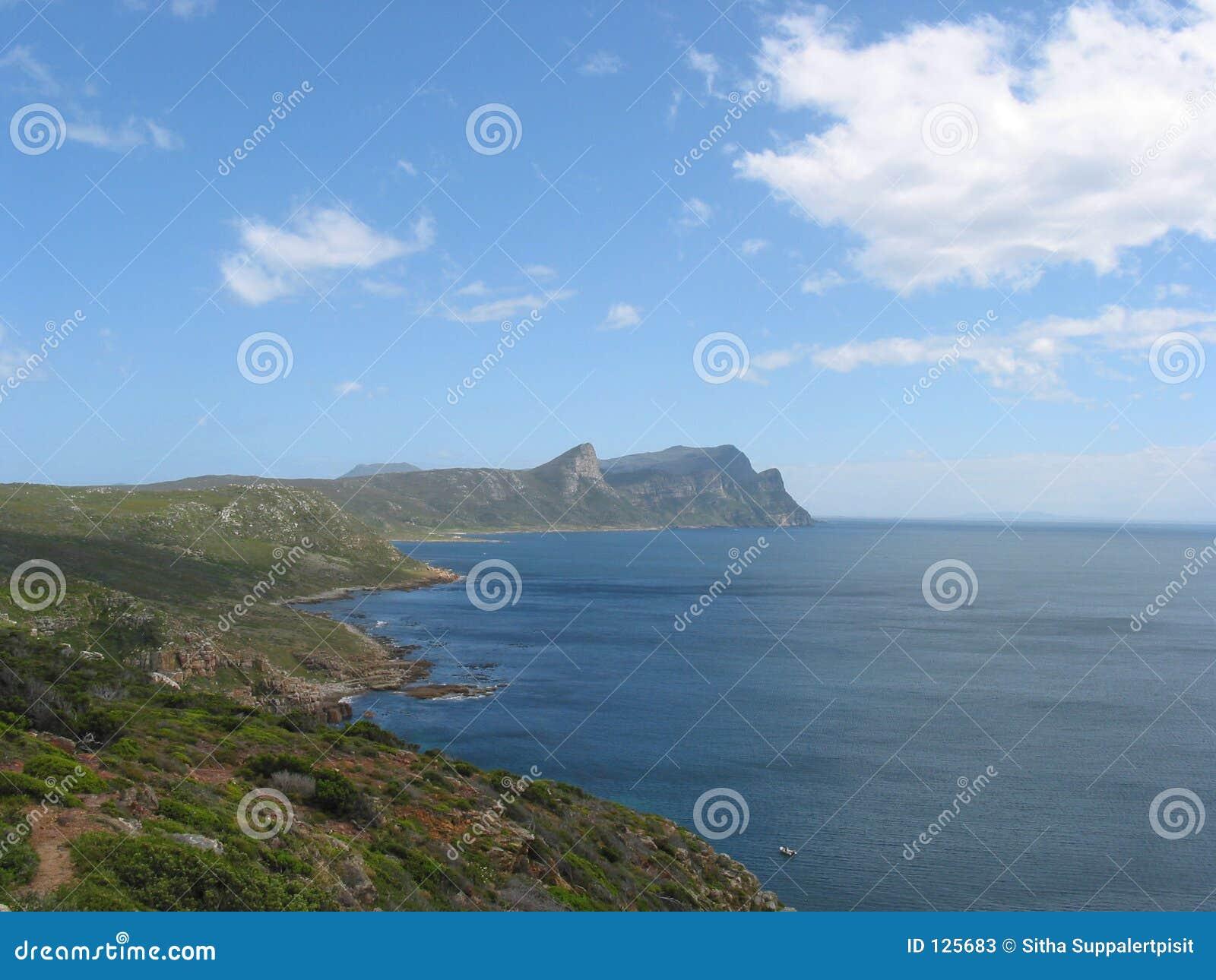 Het punt van de kaap, Zuid-Afrika