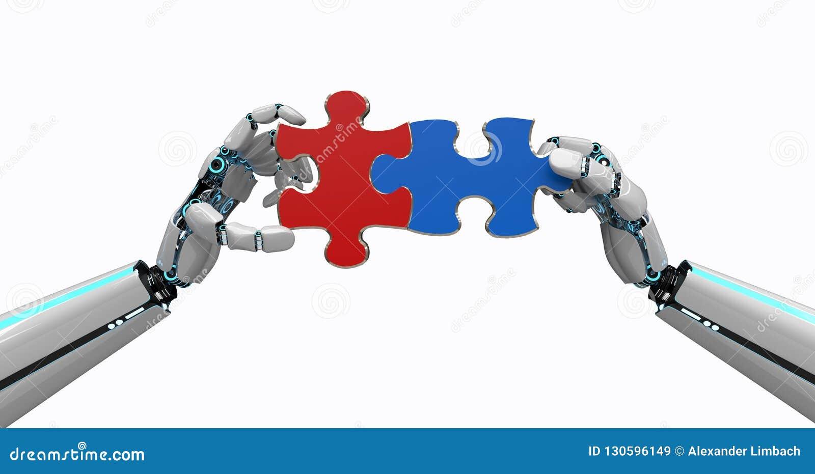 Het Raadsel van robothanden