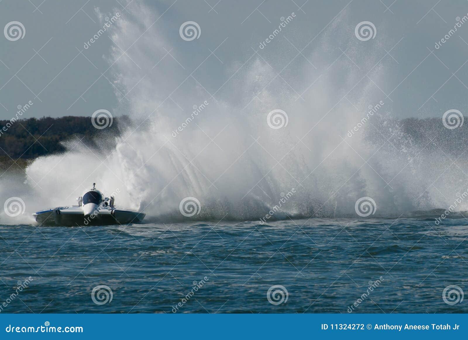 Het Ras van de motorboot