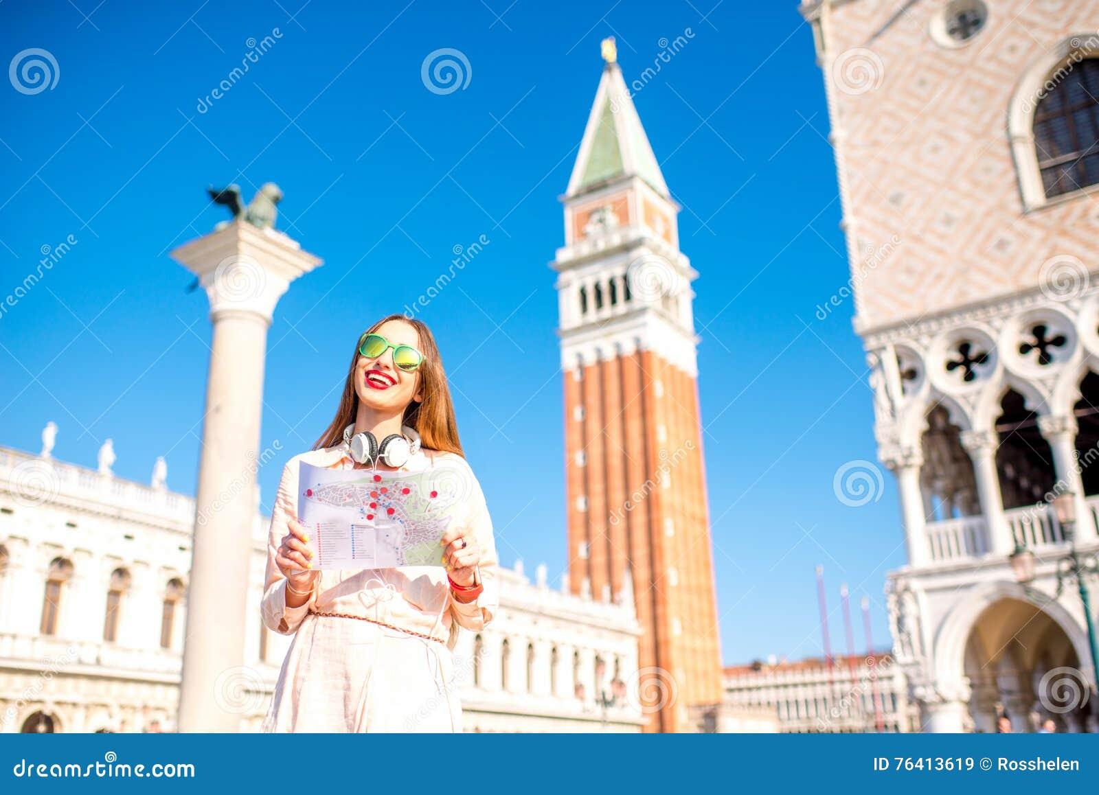 Het reizen in Venetië