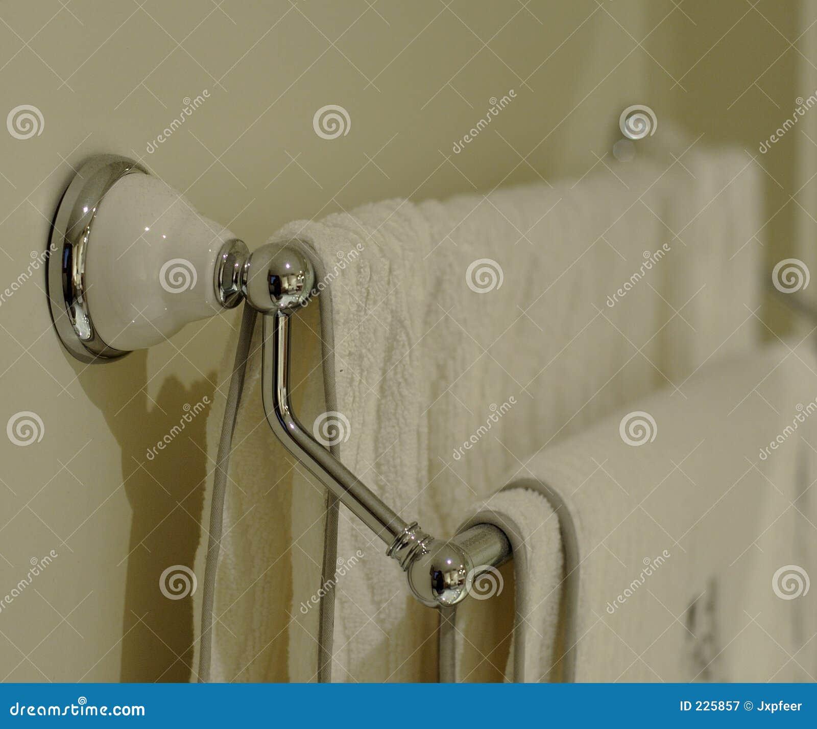 Het Rek van de badhanddoek