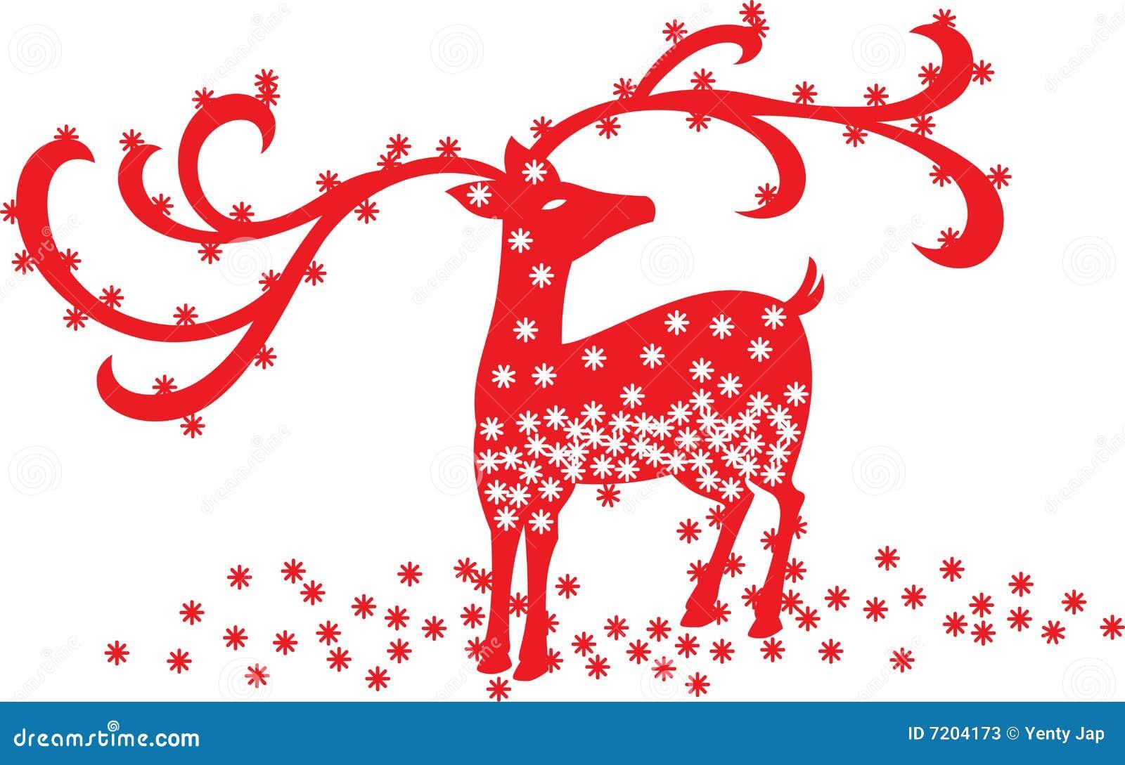 Het Rendier van Kerstmis