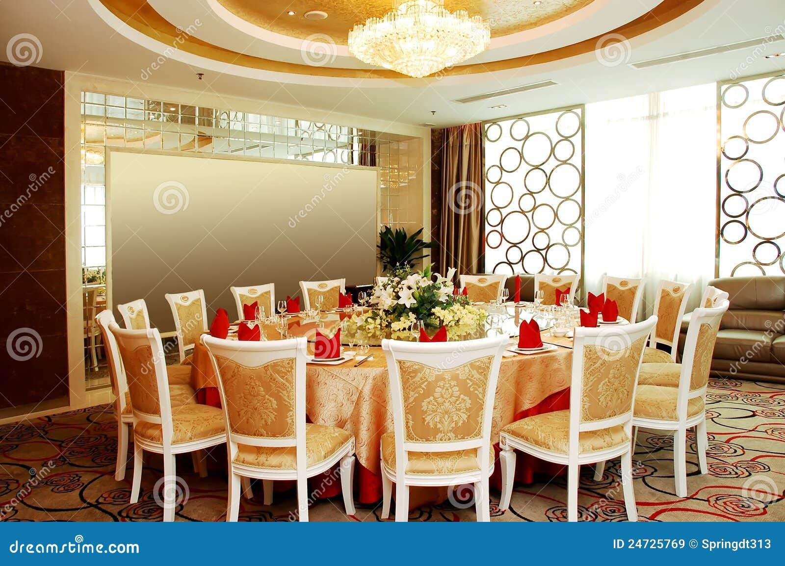 Het restaurant van de luxe royalty vrije stock afbeeldingen beeld 24725769 - Eigentijds restaurant ...
