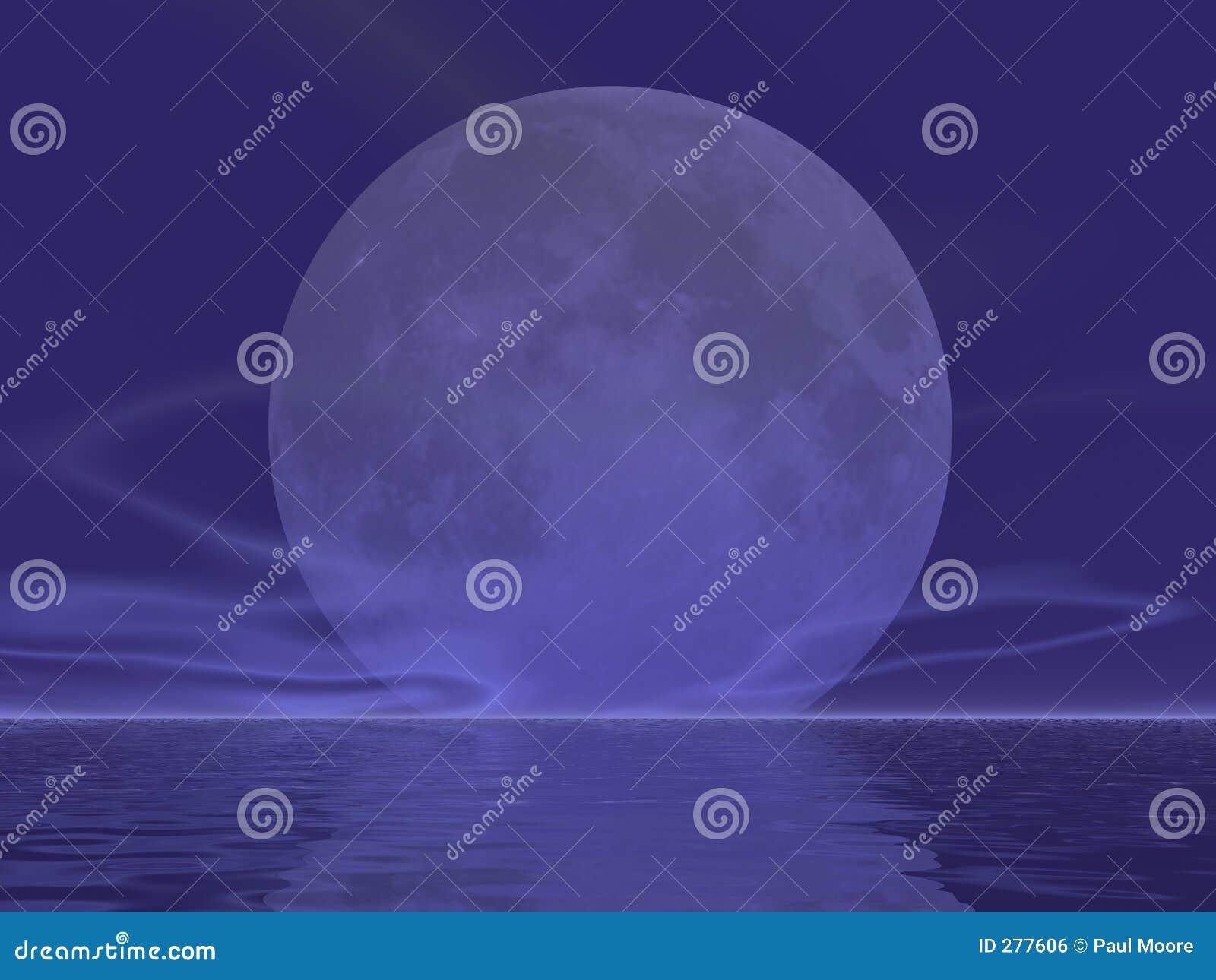 Het reuze Toenemen van de Maan