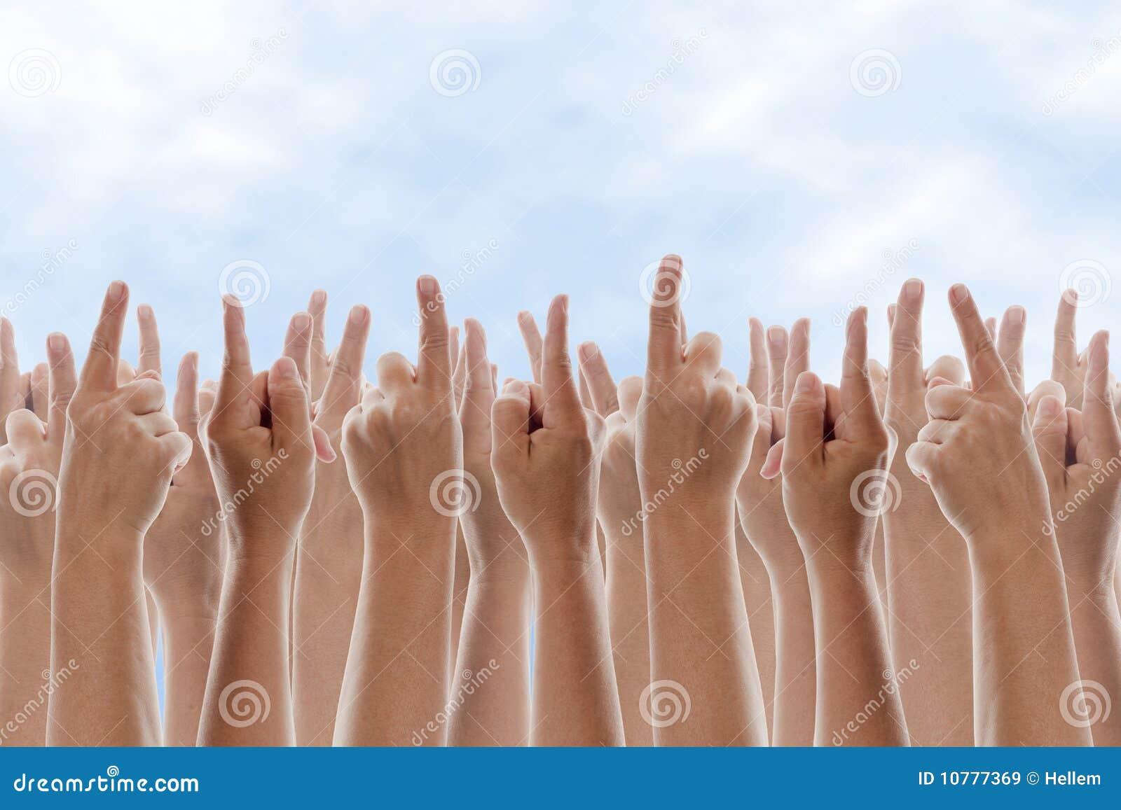 Het Richten van handen