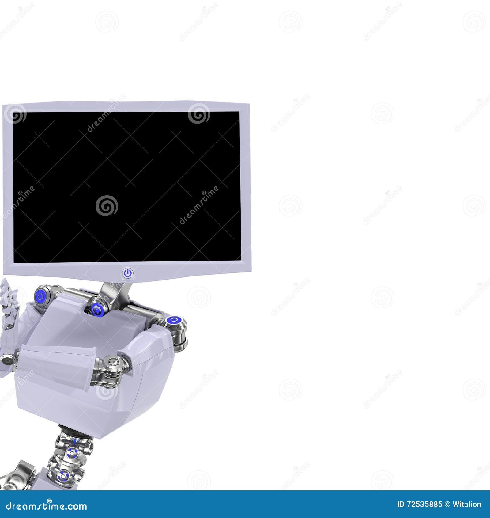 Het robotscherm