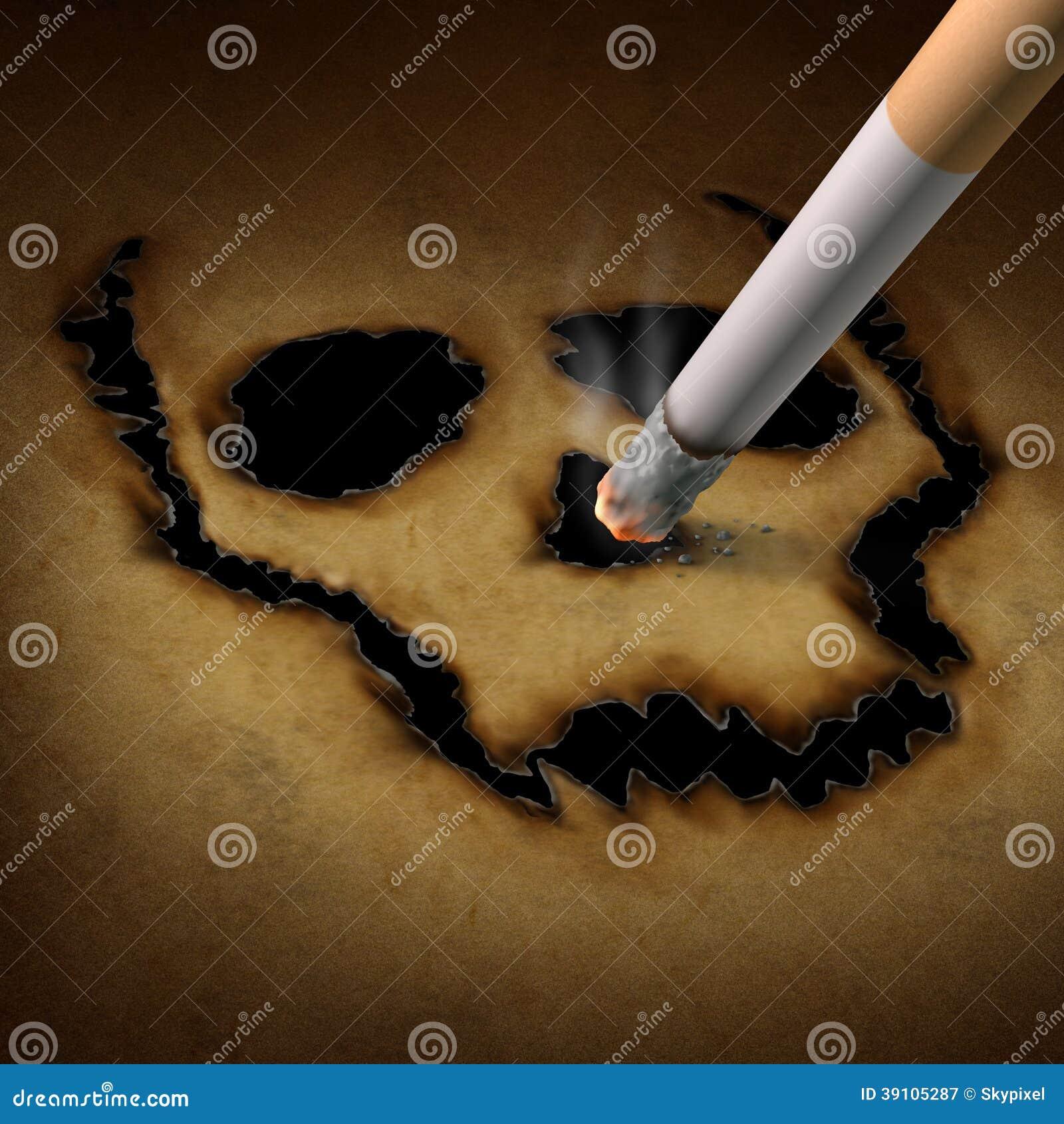 Het roken Gevaar