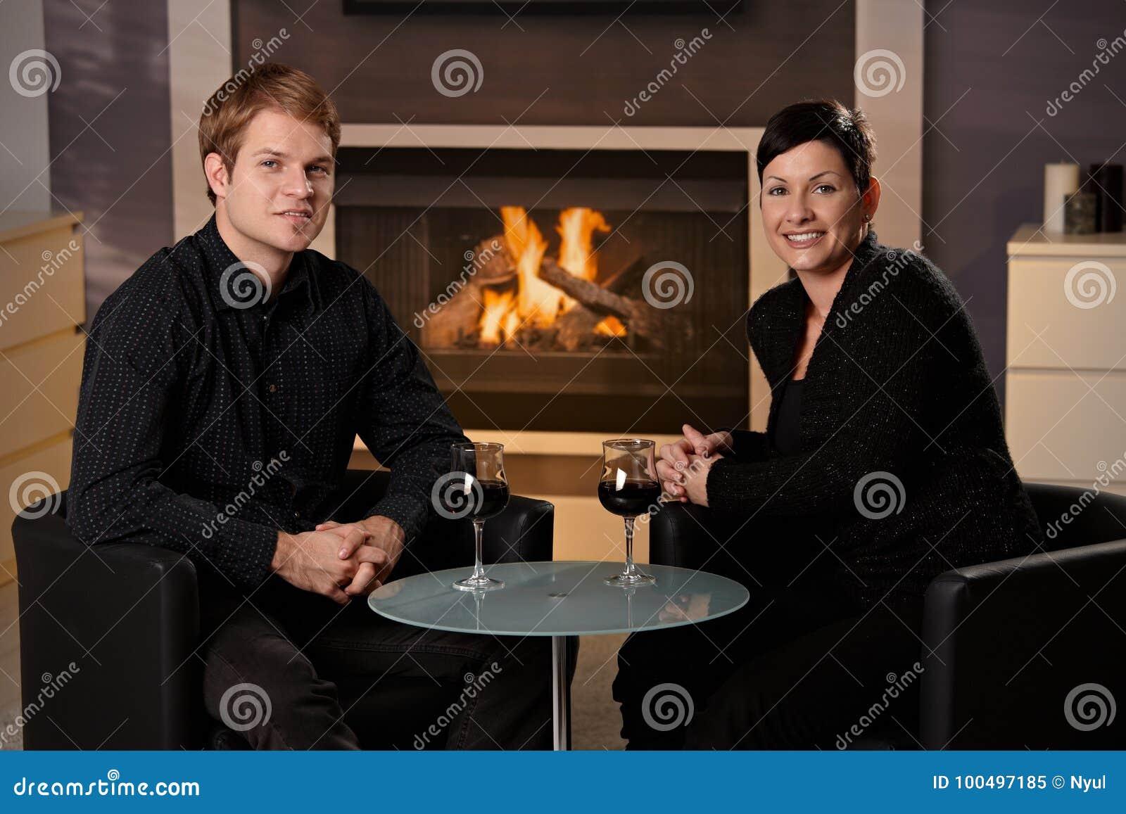Het romantische paar dateren